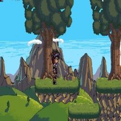 لعبة مقاتل الغابات الشجاع