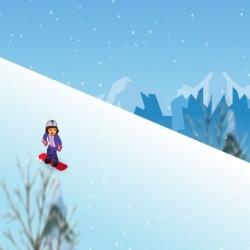 لعبة دورا والتزلج على الجليد