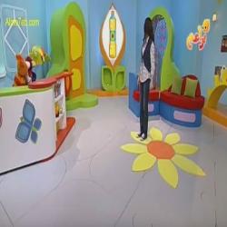 حروف ورسوم مع رانيا ونون - زهرة دوار الشمس