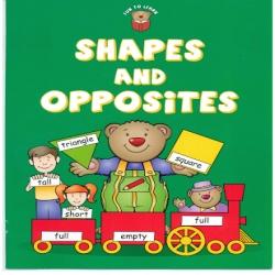 fun to learn shapes and opposites - كتاب ممتع لمعرفة الاشكال والاضداد