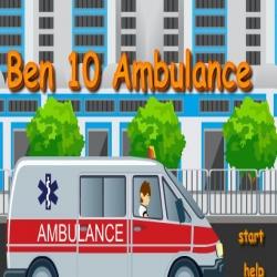 لعبة قيادة بن10 لسيارة الأسعاف