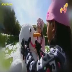 حروف ورسوم مع رانيا ونون - فصل الشتاء
