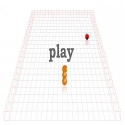 لعبة الديدان الجائعة بالشكل ثلاثي الابعاد