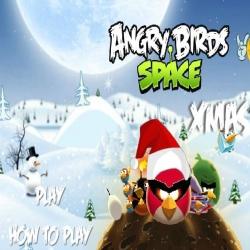 لعبة الطيور الغاضبة فوق الثلوج