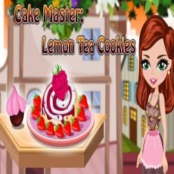 لعبة كوكيز الليمون والشاي اللذيذة