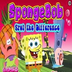 لعبة إختلاف صور سبونج بوب