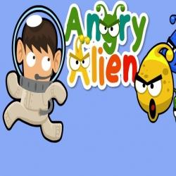 لعبة angry alien