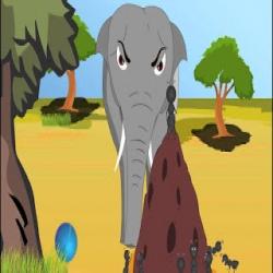 الفيل والنملة