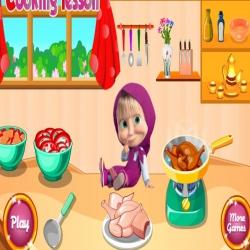 لعبة طبخ ماشا