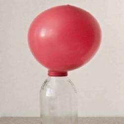 تجربة كيف تستطيع نفخ البالون بأستخدام بيكربونات الصوديوم و الخل