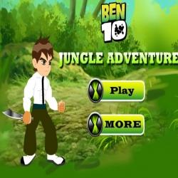 لعبة مغامرات بن10 في الأدغال