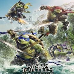 فلم الاكشن والخيال العائلي سلاحف النينجا 2: الخروج من الظلام Teenage Mutant Ninja Turtles Out of the Shadows 2016