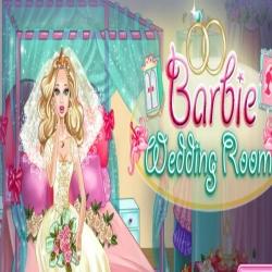 لعبة غرفة نوم العروسة باربي