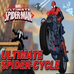 لعبة Ultimate Spider Cycle