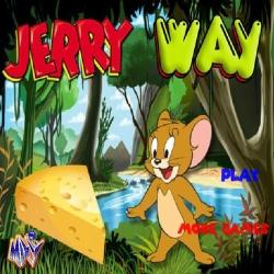 لعبة جيري وطريق الجبنة الرائعة