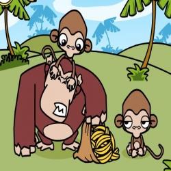 لعبة القرد لص الموز