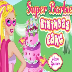 لعبة كيكة عيد ميلاد باربي
