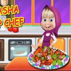 لعبة مطبخ الشيف ماشا