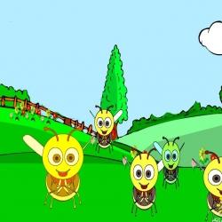 أنشودة النحلة الرقيقة