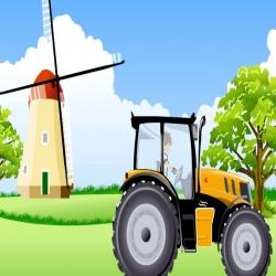 لعبة قيادة بن10 المزارع