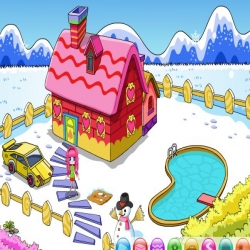 لعبة ديكور منزل بنوتة الصغير
