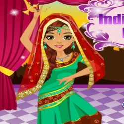 لعبة الأزياء الهندية الشهيرة