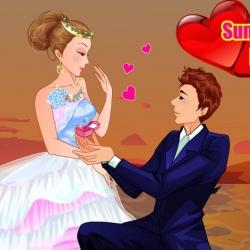 لعبة باربي العروسة الخجولة