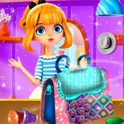 لعبة تصميم حقيبة الفتاة المراهقة