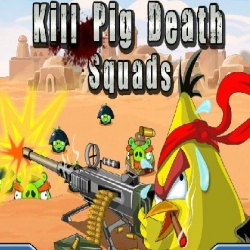 لعبة الطيور الغاضبة وقنص الخنازير