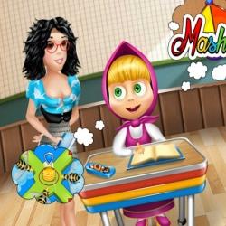 لعبة مغامرات ماشا فى المدرسة