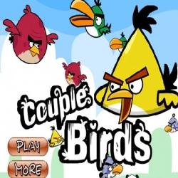 لعبة الطيور الغاضبة الملونة