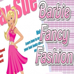 لعبة barbie fancy fashion