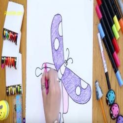 رسمة ومعلومة - كيف ارسم فراشة