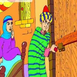 قصة جحا واللصوص