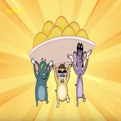 الفئران الثلاثة - استعجال المانجا