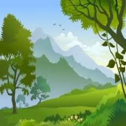 أنشودة العشب والشجرة