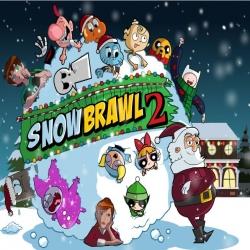 لعبة كرات الثلج للشخصيات الكرتونية بعيد الميلاد