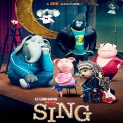 فلم الكرتون الانيميشن الغناء Sing 2016 نسخة مدبلجة للعربية + نسخة مترجمة