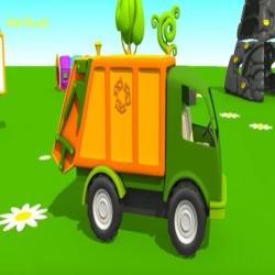 لبيب الذكي وشاحنة جمع النفايات - المفعول به