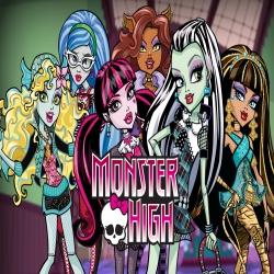 سلسلة افلام الكرتون والانيميشن مدرسة الوحوش العليا Monster High