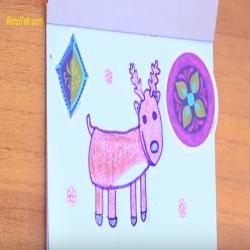 رسمة ومعلومة - كيف ارسم غزال