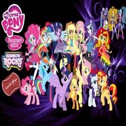 سلسلة افلام وكرتون مهرتي الصغيرة و فتيات إكويستريا My Little Pony And Equestria Girls