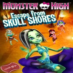 فلم الكرتون مدرسة الوحوش الهروب من شواطيء الجمجمة Monster High Escape From Skull Shores 2012 مترجم