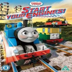 فيلم كرتون الانيميشن والمغامرات Thomas & Friends: Start Your Engines 2016 مترجم للعربية