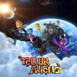 فلم كرتون المغامرة سكان كوكب تيلور Tellur Aliens 2016 مدبلج للعربية