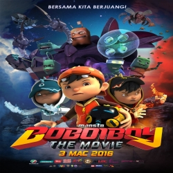 فلم كرتون الانيميشن والمغامرات والكوميديا BoBoiBoy The Movie 2016 مترجم للعربية