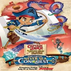 فيلم كرتون الانيميشن والمغامرات Captain Jake The Great Never Sea Conquest 2015 مترجم للعربية
