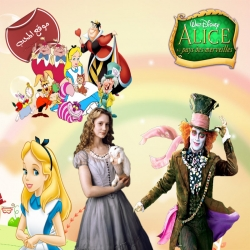 سلسلة افلام الكرتون اليس في بلاد العجائب Alice movies مدبلجة للعربية