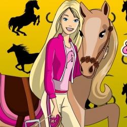 لعبة باربي والحصان