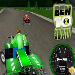 لعبة 10 بن ATV 3D